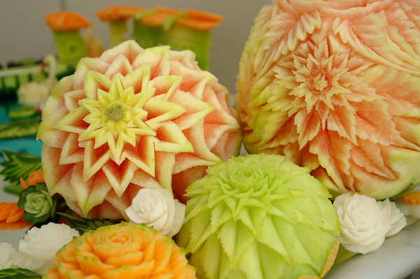 About fruit vegetable carving
