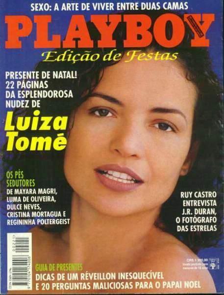 Luiza Tomé - Playboy 1993