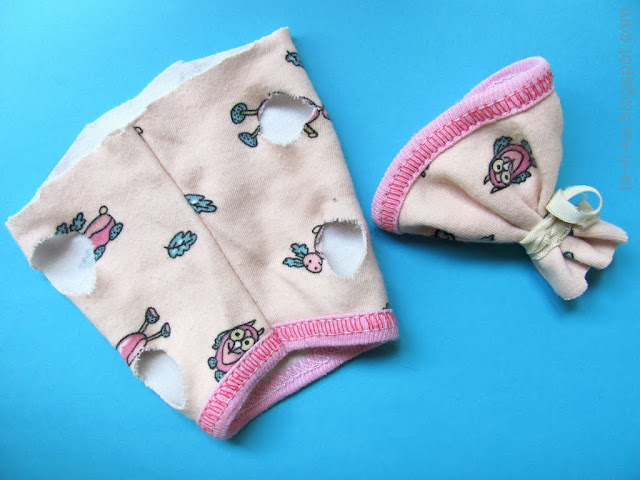 как сшить одежду для игрушечного щенка