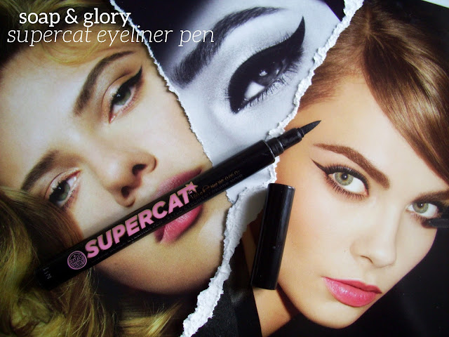 Soap and Glory Supercat Liquid Black Eyeliner Pen