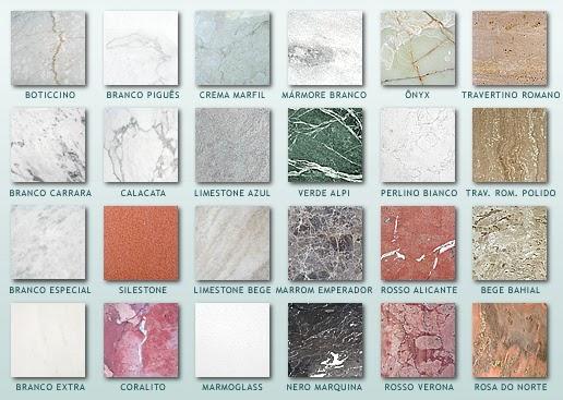 Gabinete para banheiro tipos e cores de marmores granitos - Tipos de granito ...