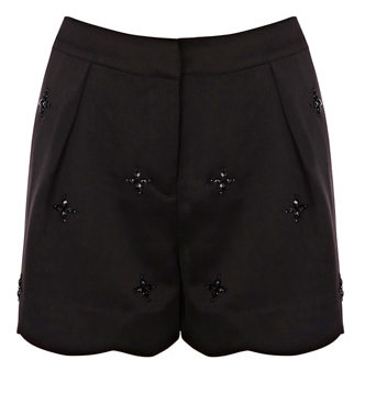 oasis embellished shorts