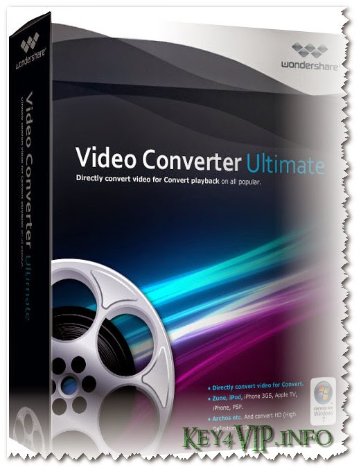 Wondershare Video Converter Ultimate v8.0.1.6 Full Key,Phần mềm Convert Audio và Video đa năng