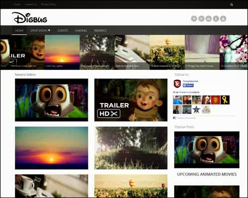 DigBug Blogger Template