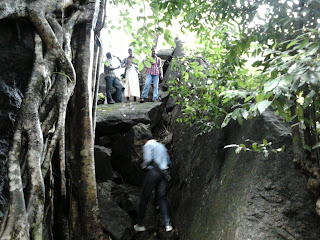Route to Vazhvanthol Waterfalls is very adventurous