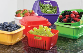 Image: Hutzler 3-in-1 Berry Box - Shop USA