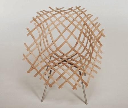 Silla de Bambú Tejido, Tecnicas Ancestrales aplicadas a Diseños Modernos