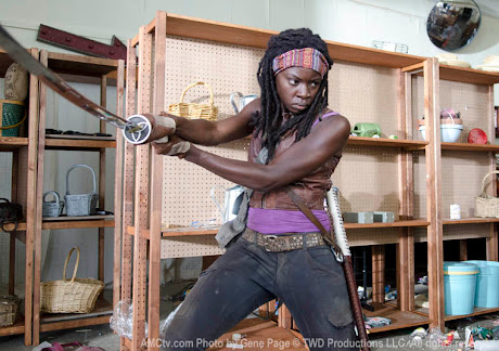 LA desconocida Danai Gurira es Michonne en TWD