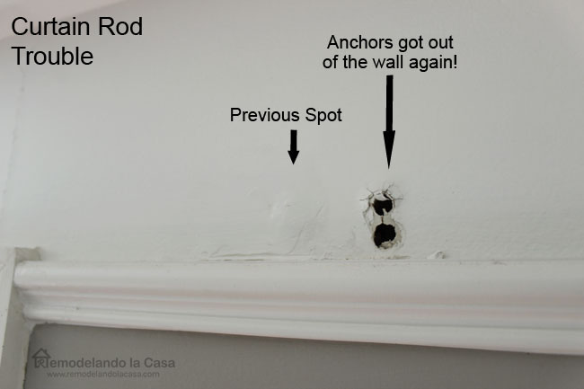 How To Install Wall Anchors For Curtain Rods – Curtain Idea