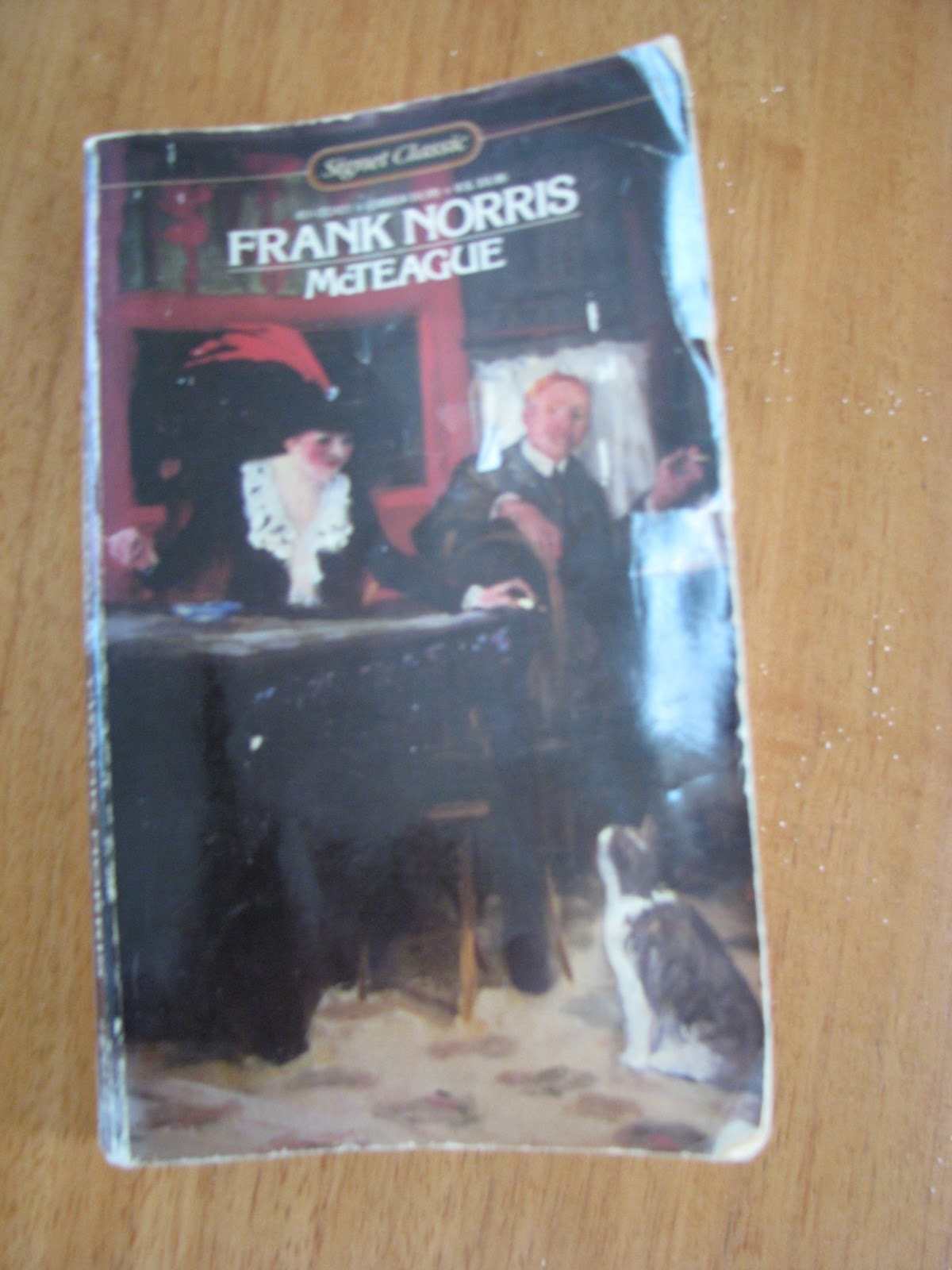 an analysis of the novel mcteague by frank norris