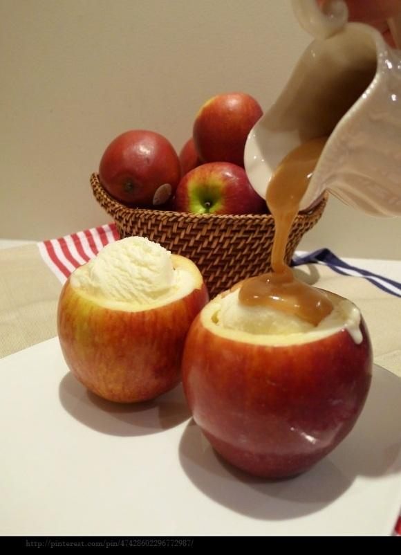 ... blog of her Adventures in Design: Apple Ice Cream Cups For Ice Cream