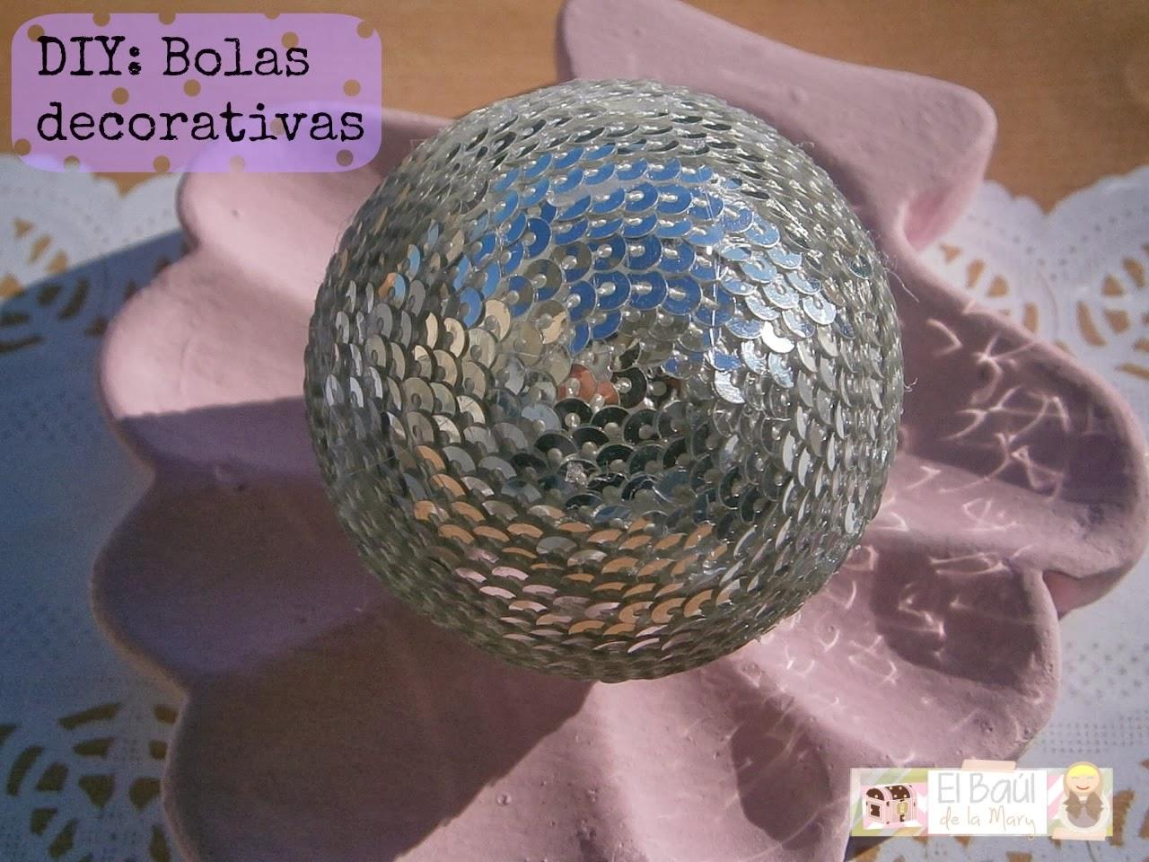 Diy Bolas Decorativas Handbox Craft Lovers Comunidad Diy  ~ Bolas Para Decorar Centros De Mesa