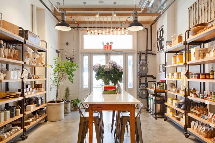 The Shop Locator Heaven Kitchen Store Restaurant By Turett Collaborative Architects New York