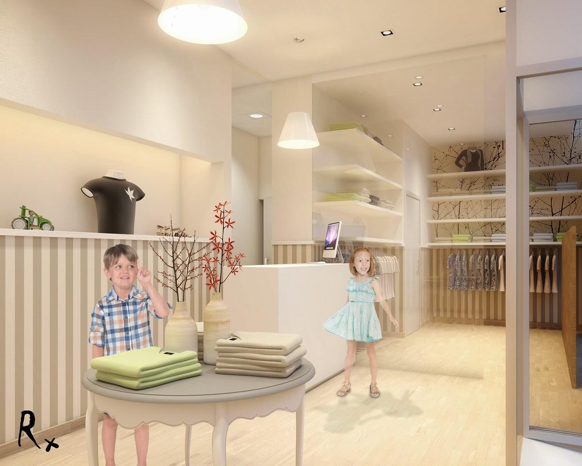 Vray blog tutoriales noticias a o 2014 proyecto local comercial de ropa y complementos para - Proyecto local comercial ...