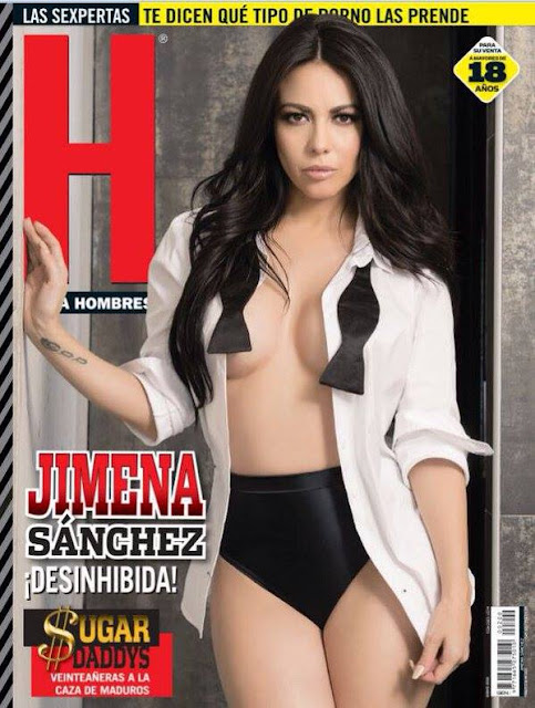 Jimena Sánchez Revista H para Hombres Enero 2016