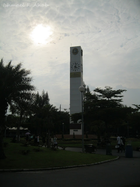 Clock tower of Chatuchak Park