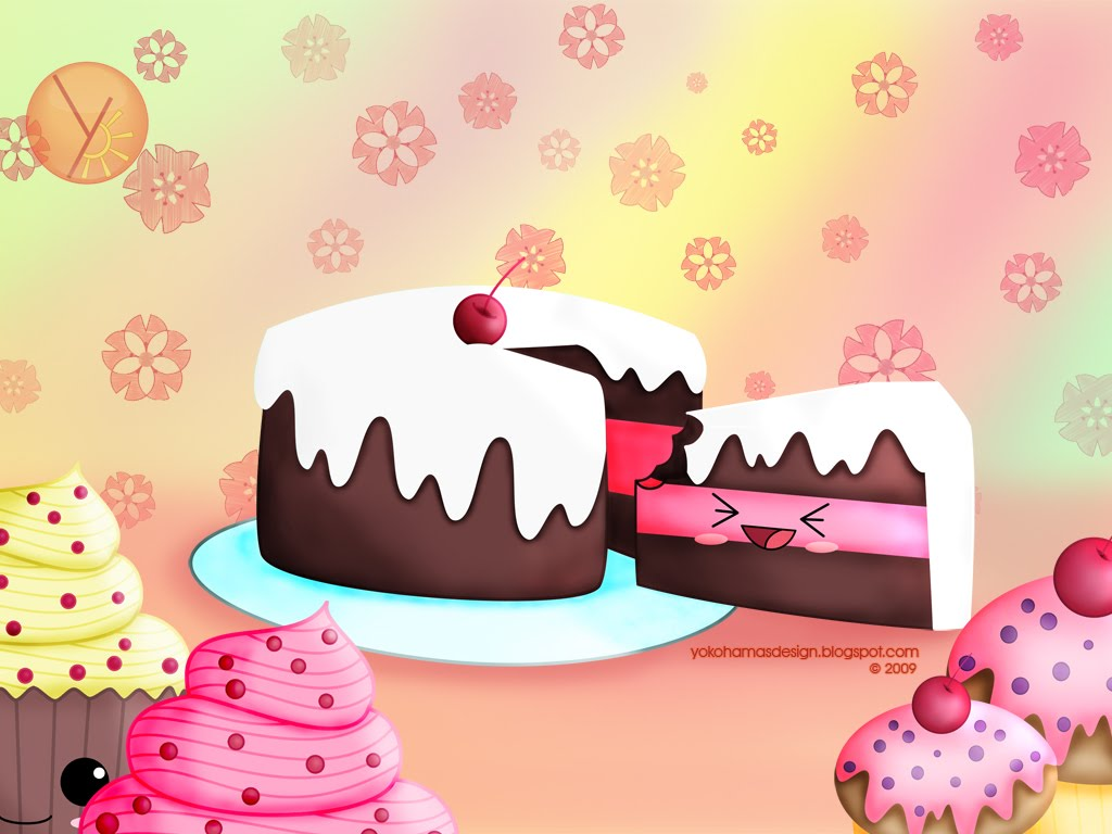 Cute Cake Images Hd : Kawai-world : Kawaii Wallpapers