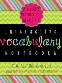 Interactive Vocab Notebook