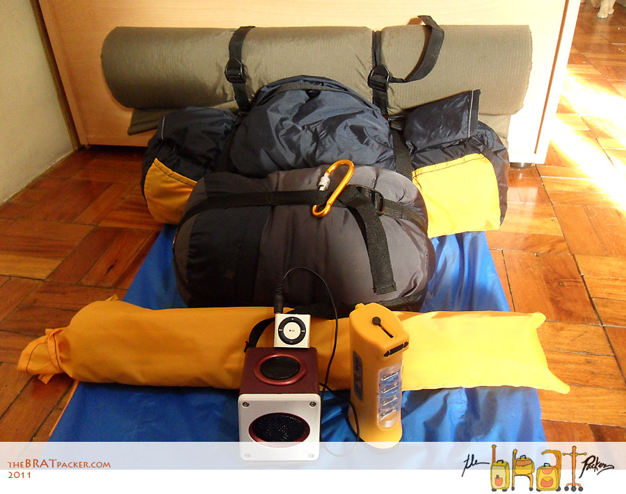 Conquer Micra Inner Tent & Whatu0027s In My Pulag Pack? ~ The BRATpacker