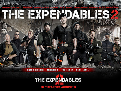 The Expendables 2 powerpoint background 1