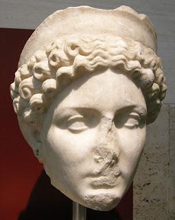 Claudia Octavia o  Octavia Neronis , esposa de Nerón -  a. 40-62 d.C.