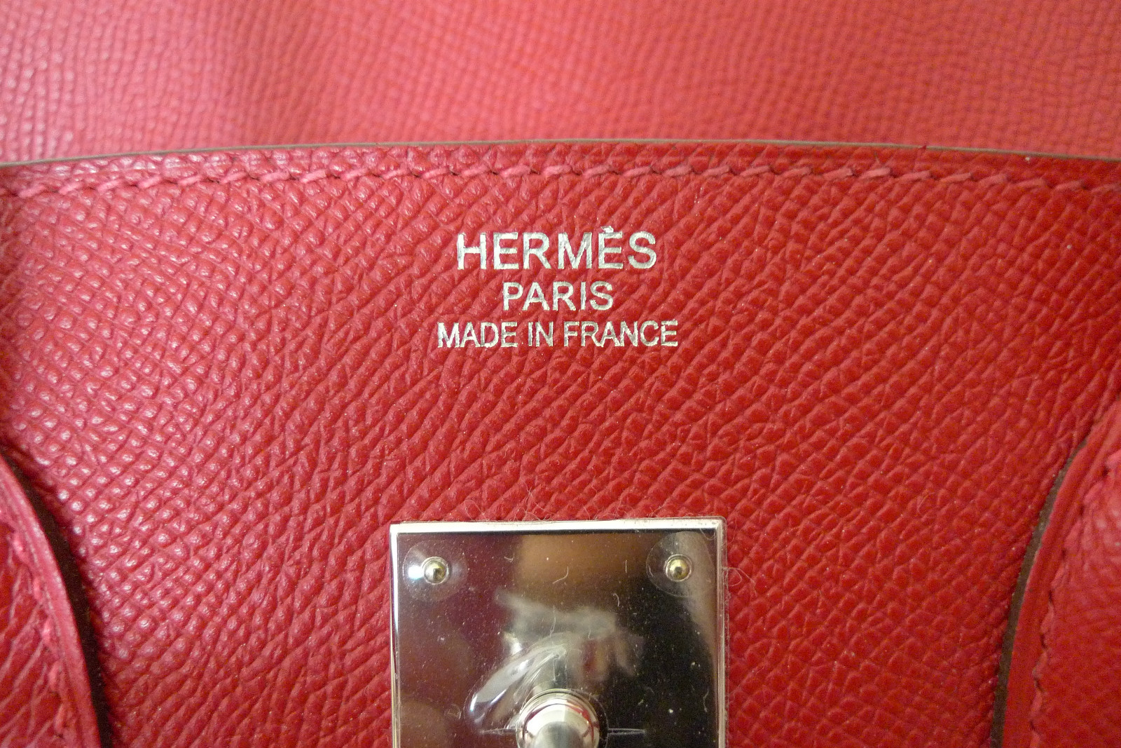 white birkin - Hermes Birkin 30cm Epsom Rouge Casaque Ghw