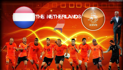 Netherlands National Football Team Euro 2012 Hd Desktop Wallpaper