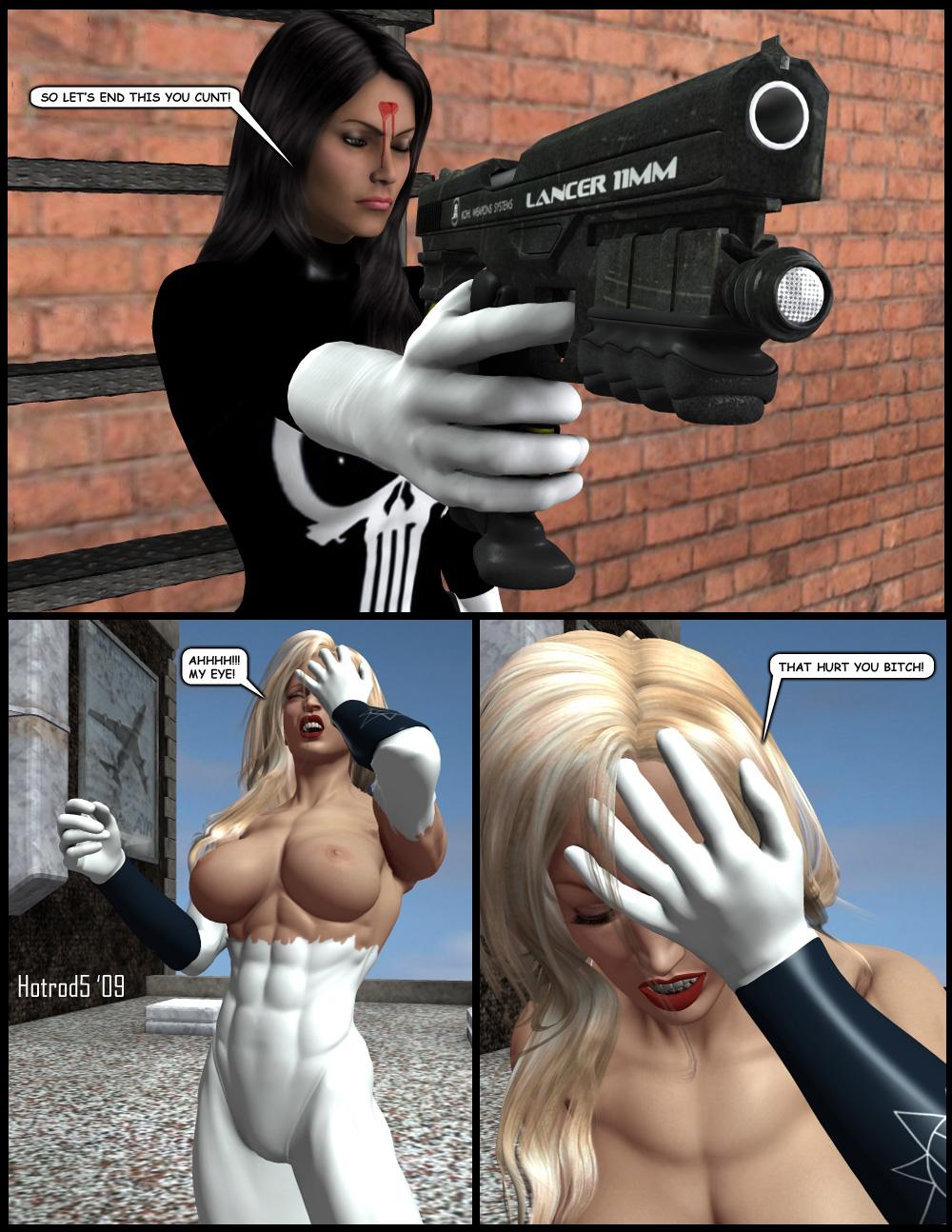Ultrawoman vs LFP Pg08 by hotrod5 Etiquetas: Chloroform, Danger Babe Central, Gas Mask, Nude, Superheroine