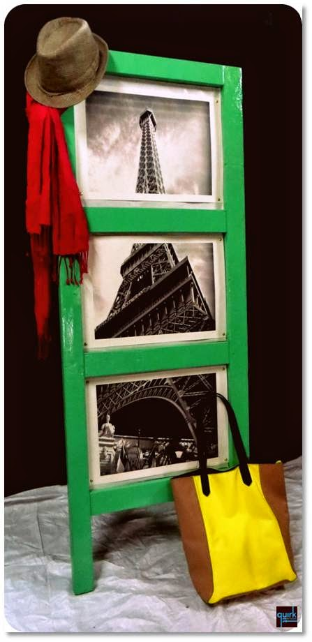 paris - eiffel - door - frame - DIY - quirk it design - decor