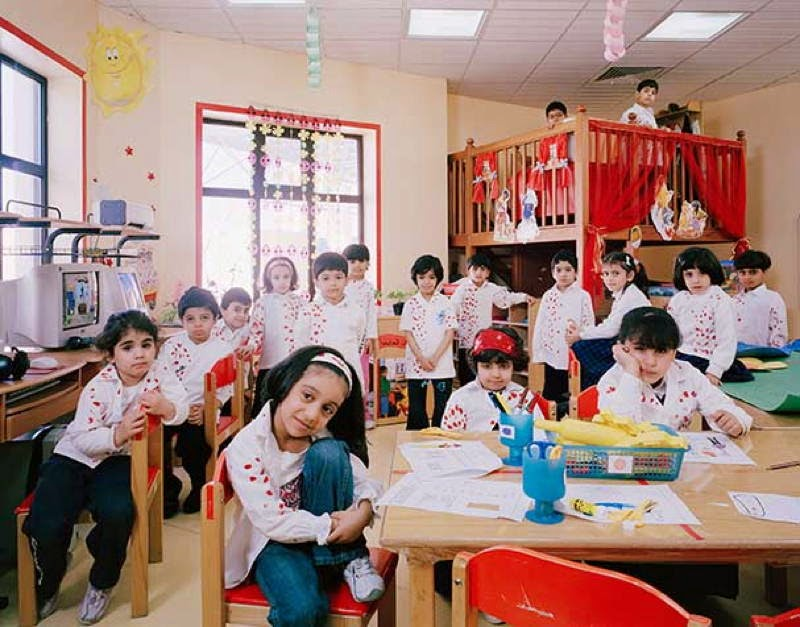 An Eye-Opening Look Into Classrooms Around The World - Saudi Arabia, Dammam, Kindergarden, Activities