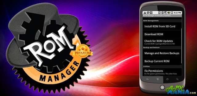 ROM Manager (Premium) v5.5.1.7 APK