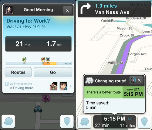 Waze - Facebook