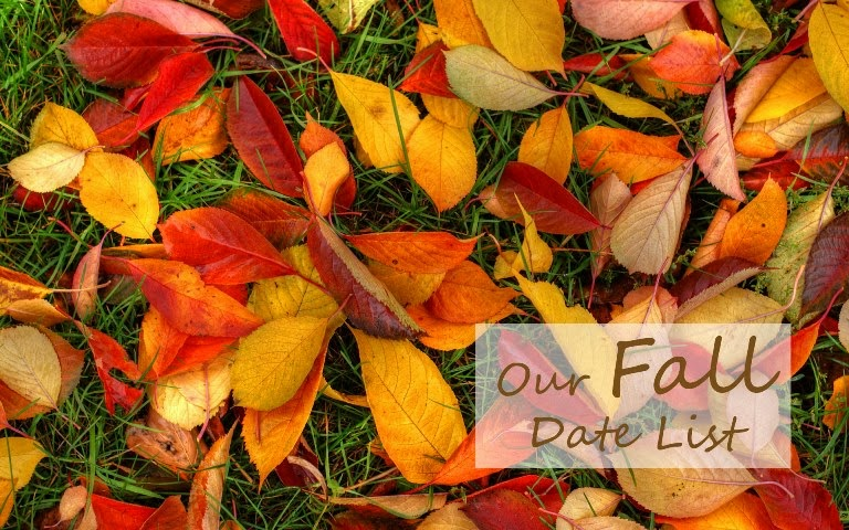 fall dates, fall date ideas