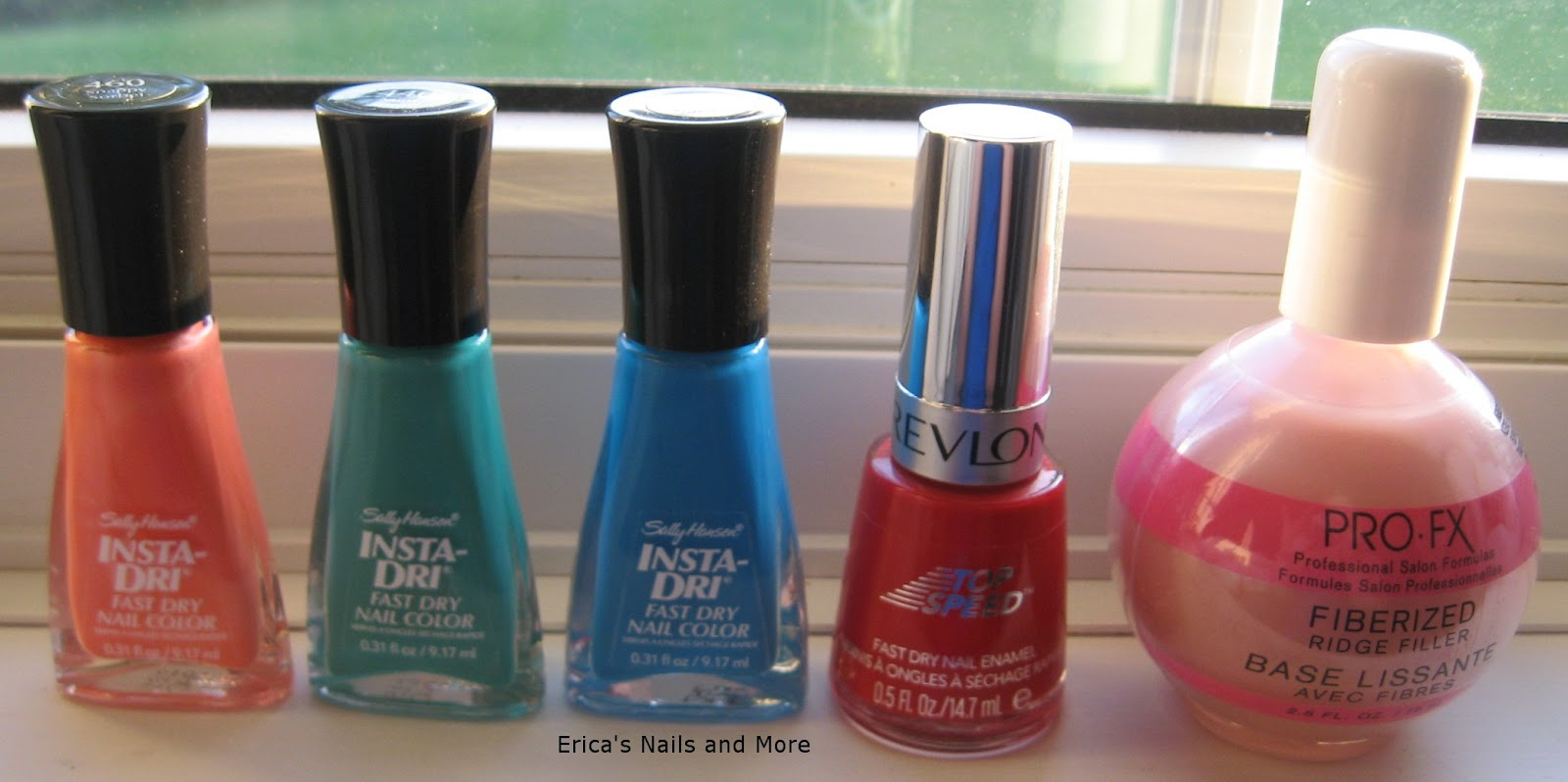 Erica 39 s nails and more walmart nail haul for Acrylic nails walmart salon