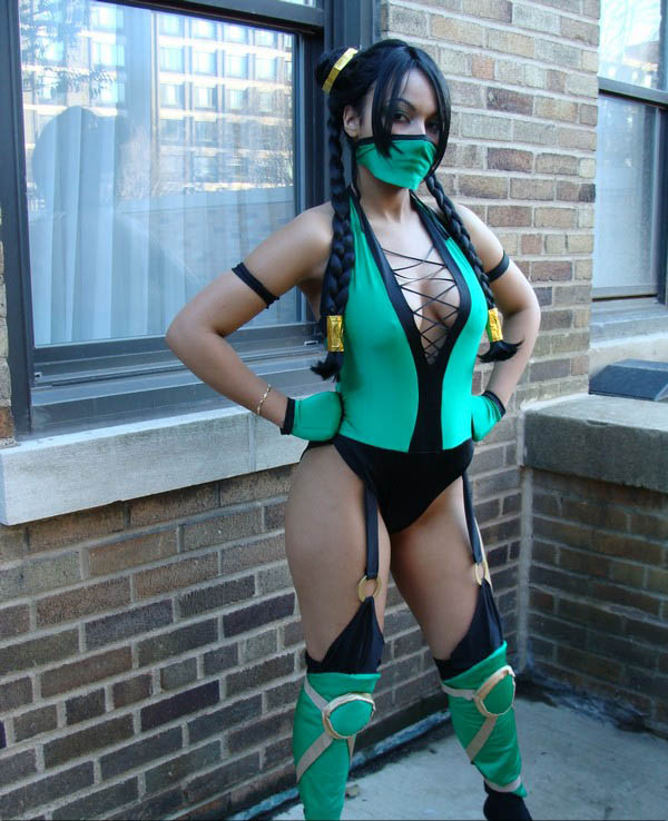 Girls Mortal Kombat Cosplay