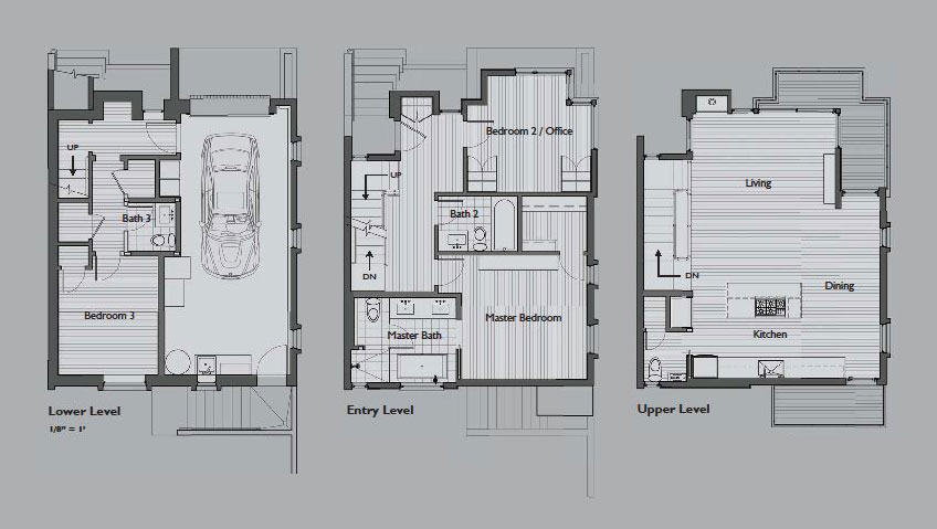 World of architecture warm modern vertical home in san for Floor design sf