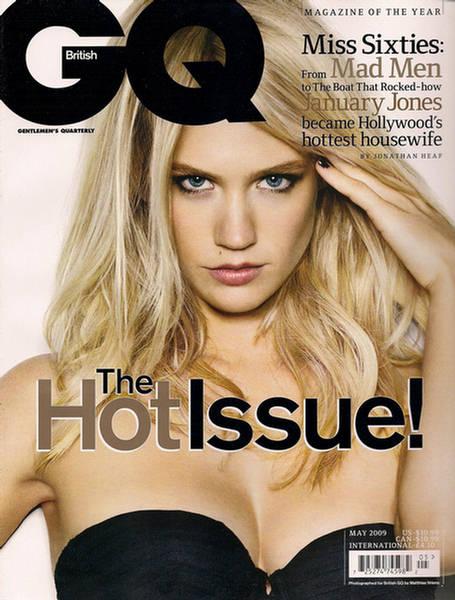 January Jones Hot GQ