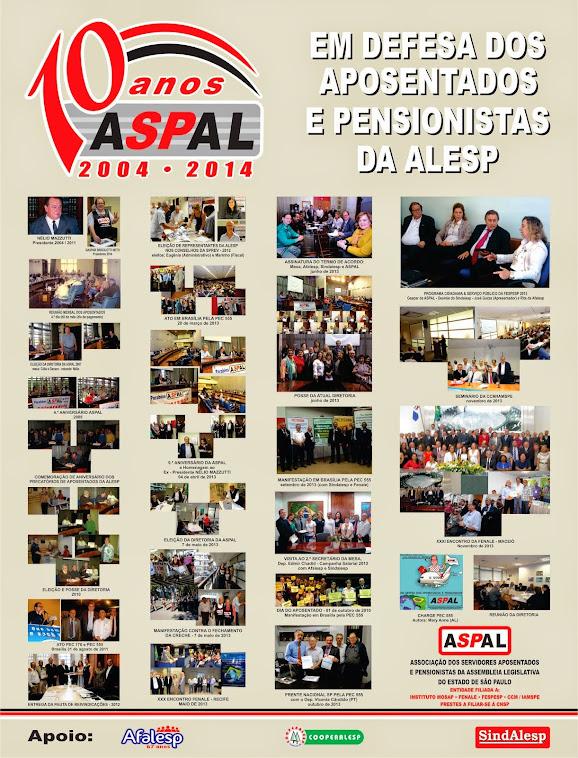 10º ANIVERSÁRIO DA ASPAL