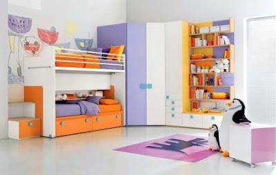 Foto Desain Kamar Minimalis Untuk Anak Terbaru