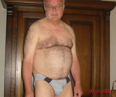 hairy bear pics - chubby older gay - mature picture