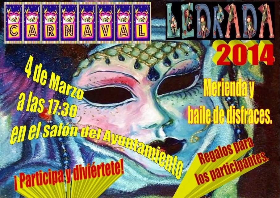 4/Marzo: Carnaval. Ledrada
