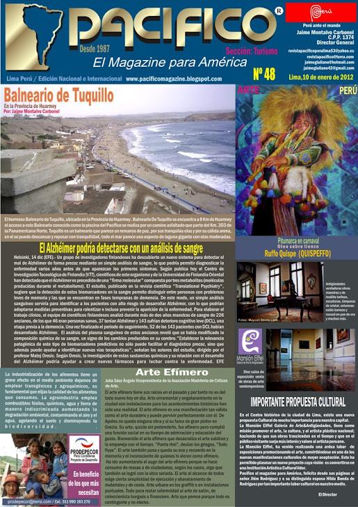 Revista Pacífico Nº 48 turismo