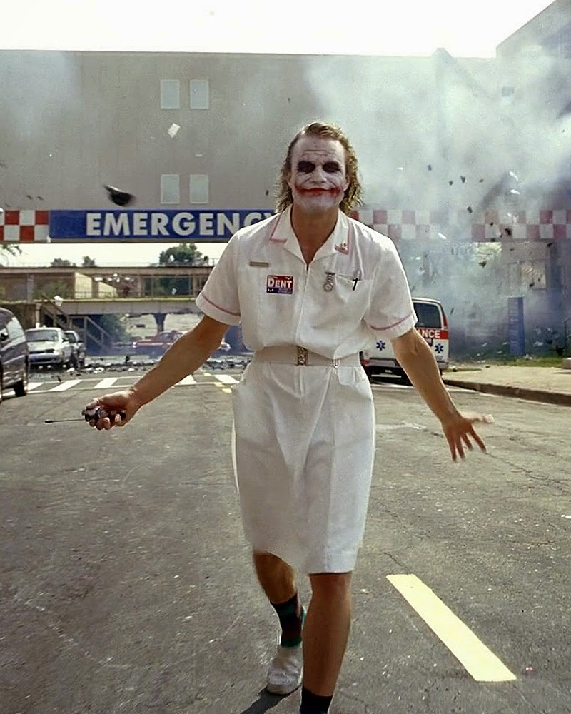 Heath Ledger Joker Nurse The Pause