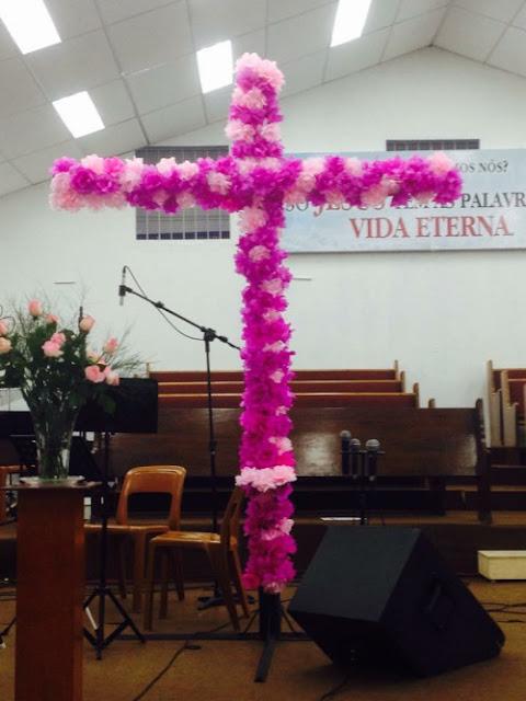 Cruz no casamento