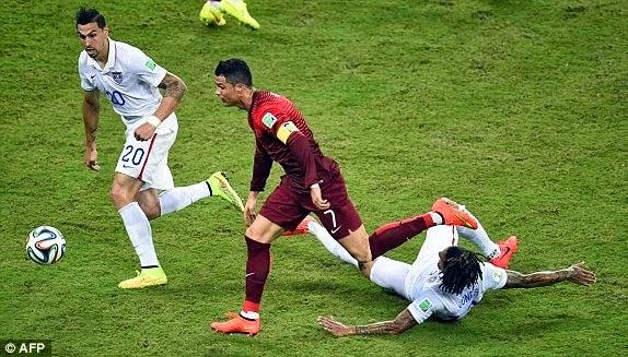 USA 2 2 Portugal All Goals