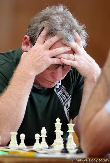 Rapid Chess competition in Napier photograph