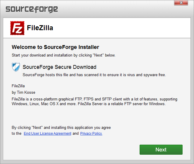 filezilla project Filezilla is a fast and reliable ftp client with lots of handy features it supports resume on both downloads and uploads, timeout detection, firewall support, socks4/5 and http11 support, ssl, sftp and more, all with an intuitive drag and drop interface.