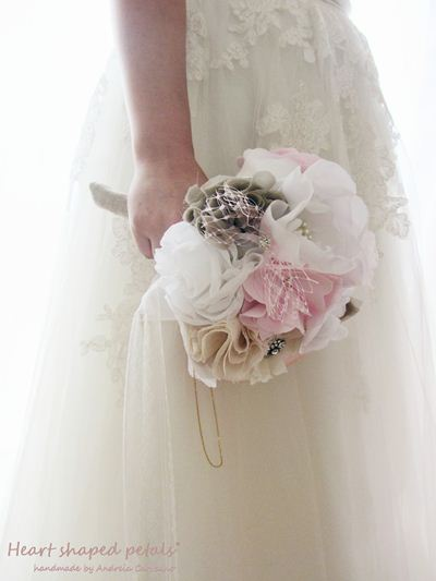 bridal bouquets vintage inspired