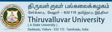 Thiruvalluvar University Vacancy 2014