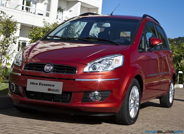 Fiat Idea 2013 - perfil dianteiro